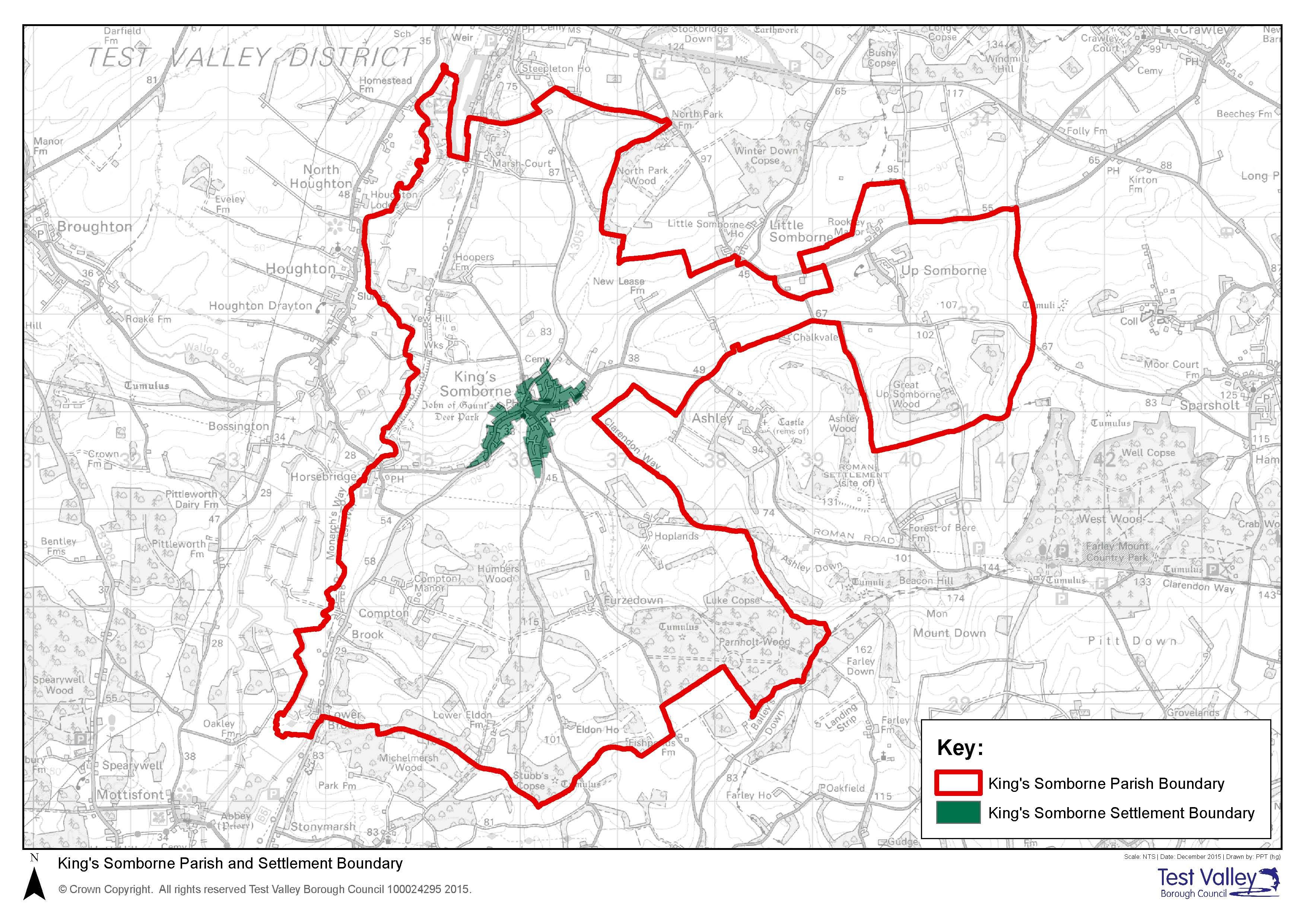 Parish and Settlement